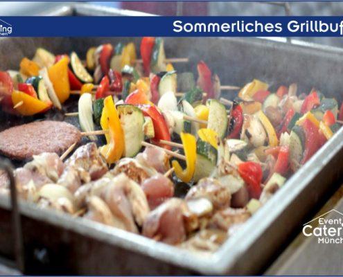 Sommerliches Grillbuffet Catering Landshut