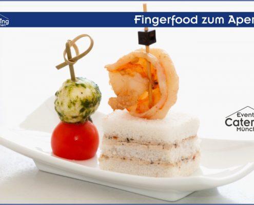 Fingerfood zum Aperitif Catering Landshut
