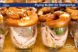 Flying Buffet bayrisch Catering Landshut