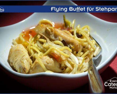 Flying Buffet asiatisch von Catering Landshut