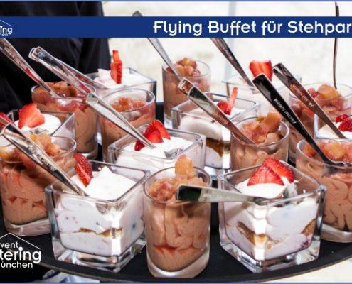 Flying Dessert Buffet von Catering Landshut