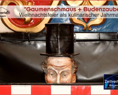 Weihnachtsfeier im Zelt Zeltverleih Landshut
