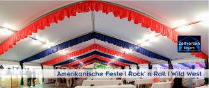 Amerikanische Feste Zeltverleih Landshut